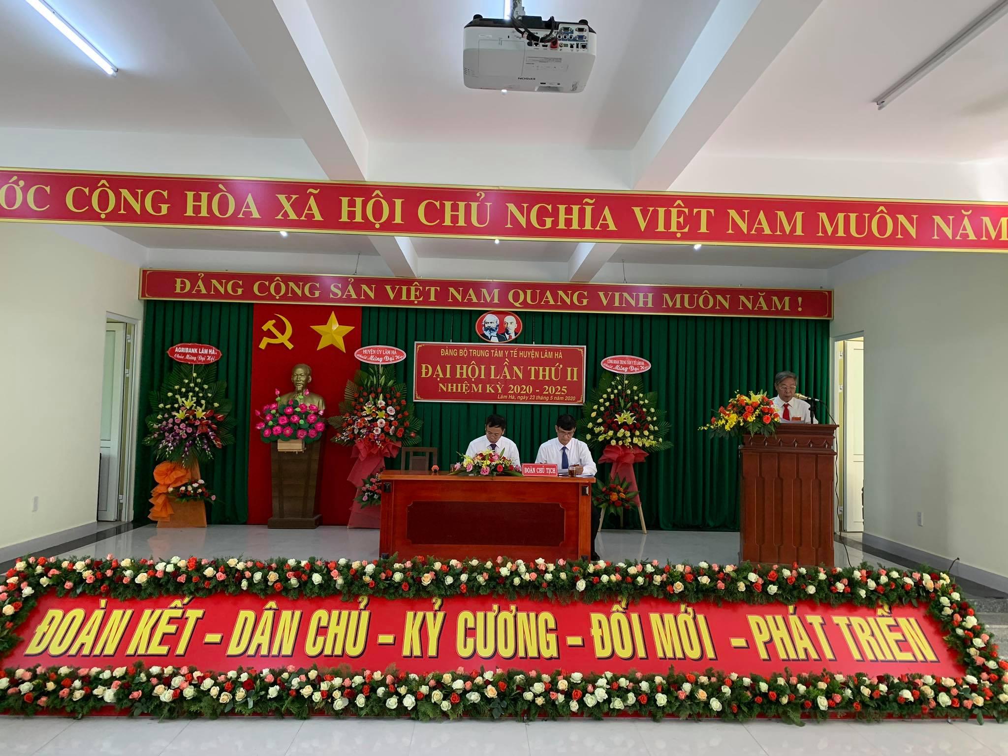 Đại hội đảng bộ TTYT huyện lần thứ II nhiệm kỳ 2020-2025